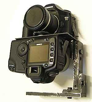 2-camera rig using Nikon FC-E8 circular fisheye lenses for